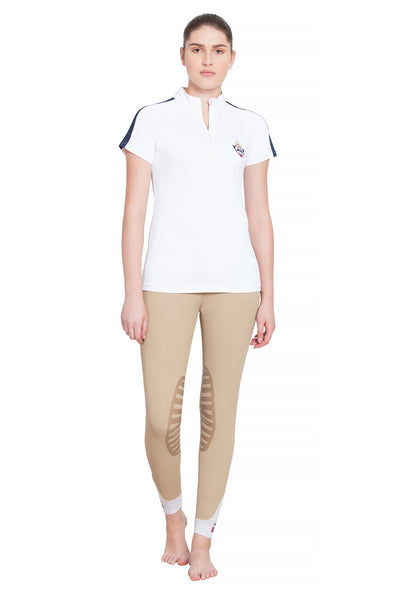 Equine Couture Ladies Jordan Short Sleeve Sport Shirt_4259