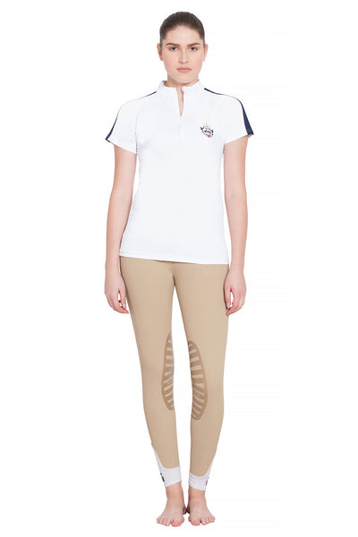 Equine Couture Ladies Jordan Short Sleeve Sport Shirt_4260