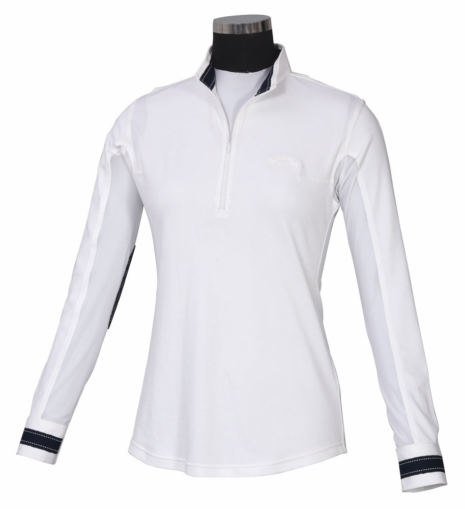 Equine Couture Ladies Penelope Long Sleeve Show Shirt_1068