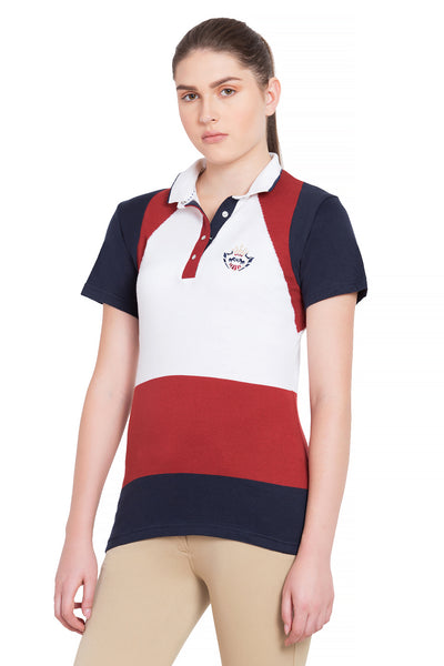 Equine Couture Ladies Calla Short Sleeve Sport Shirt_1084