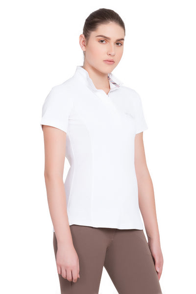 Equine Couture Ladies Cara Short Sleeve Show Shirt_4317