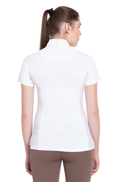Equine Couture Ladies Cara Short Sleeve Show Shirt_4318