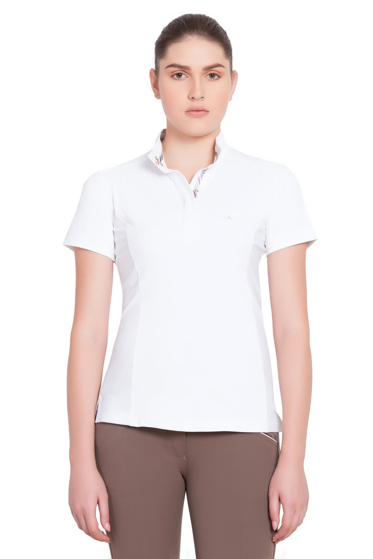 Equine Couture Ladies Cara Short Sleeve Show Shirt_4315