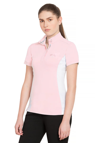 Equine Couture Ladies Cara Short Sleeve Show Shirt_4321