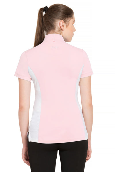 Equine Couture Ladies Cara Short Sleeve Show Shirt_4322