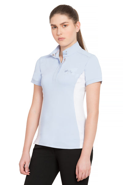 Equine Couture Ladies Cara Short Sleeve Show Shirt_4325