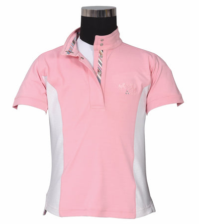 Equine Couture Children's Cara Short Sleeve Show Shirt_4331