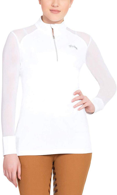 Equine Couture Ladies Erna EquiCool Long Sleeve Sport Shirt_4353