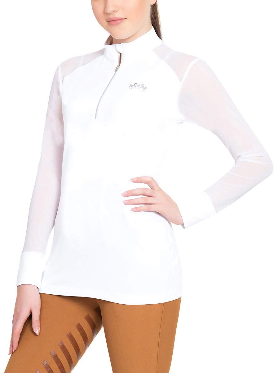 Equine Couture Ladies Erna EquiCool Long Sleeve Sport Shirt_4352