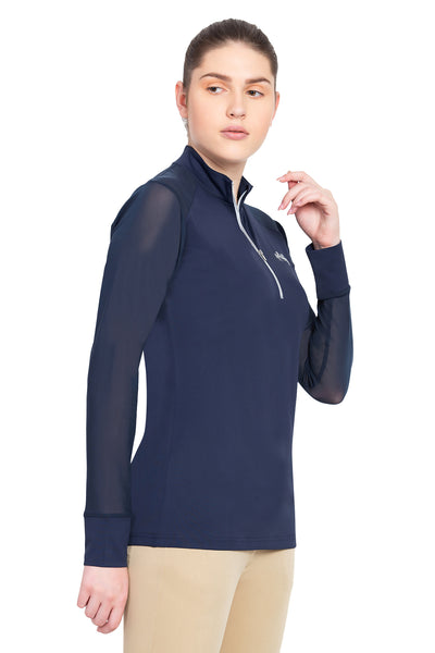 Equine Couture Ladies Erna EquiCool Long Sleeve Sport Shirt_4359
