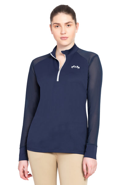 Equine Couture Ladies Erna EquiCool Long Sleeve Sport Shirt_4358