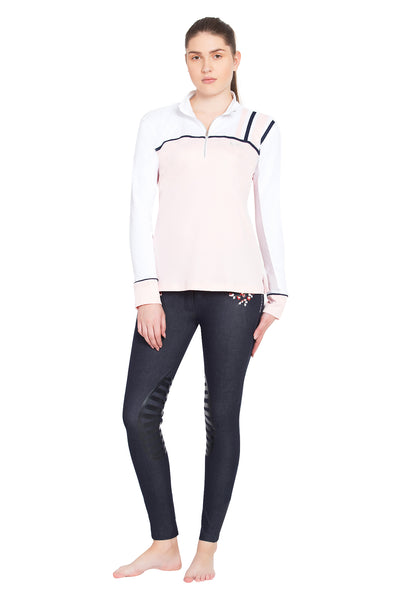 Equine Couture Ladies Nicole EquiCool Long Sleeve Sport Shirt_4385