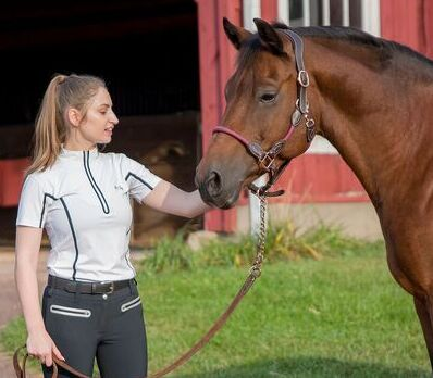EQUINE COUTURE LADIES IBIZA SPORT SHIRT_6