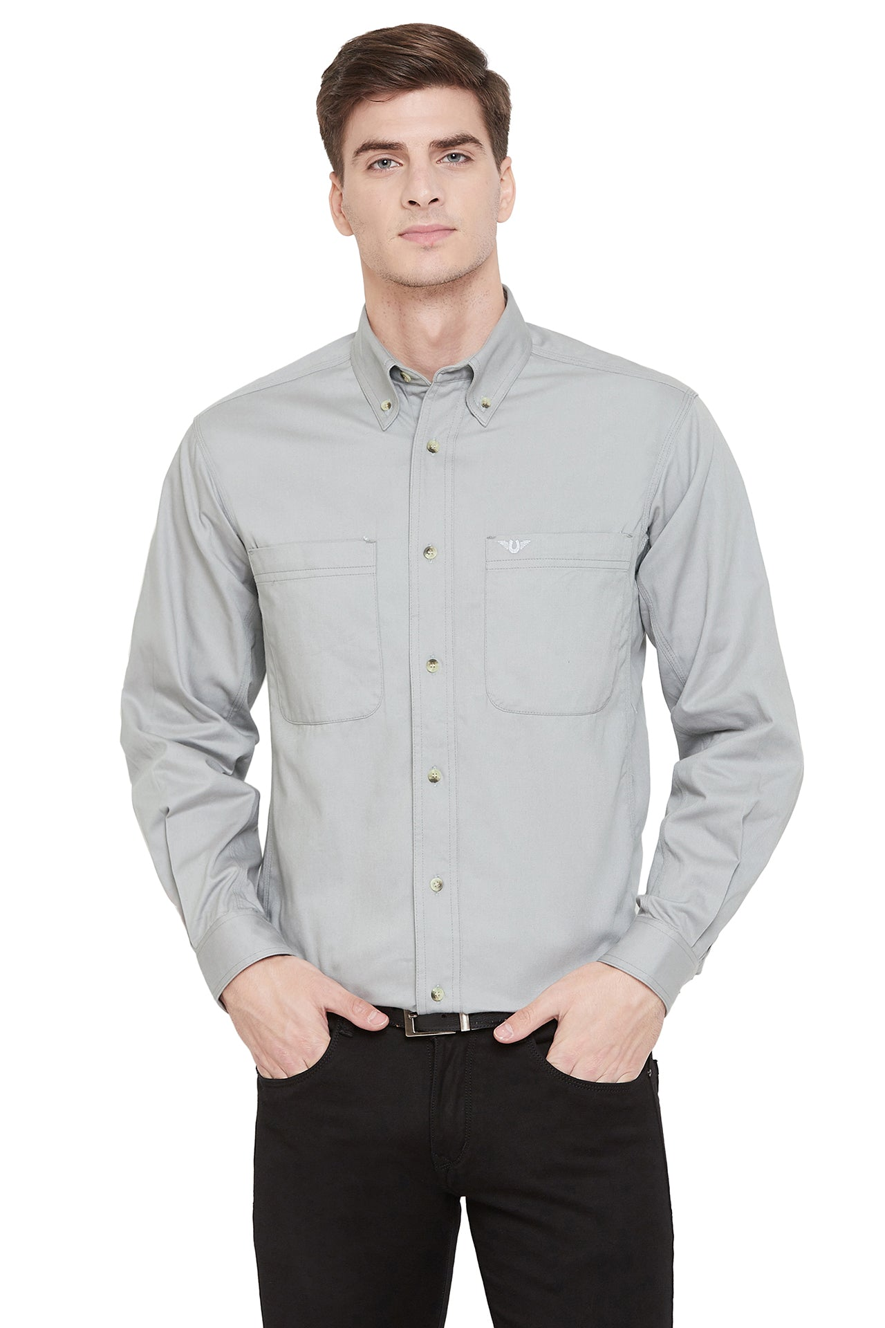 TuffRider Men's Voltage Work Shirt_1