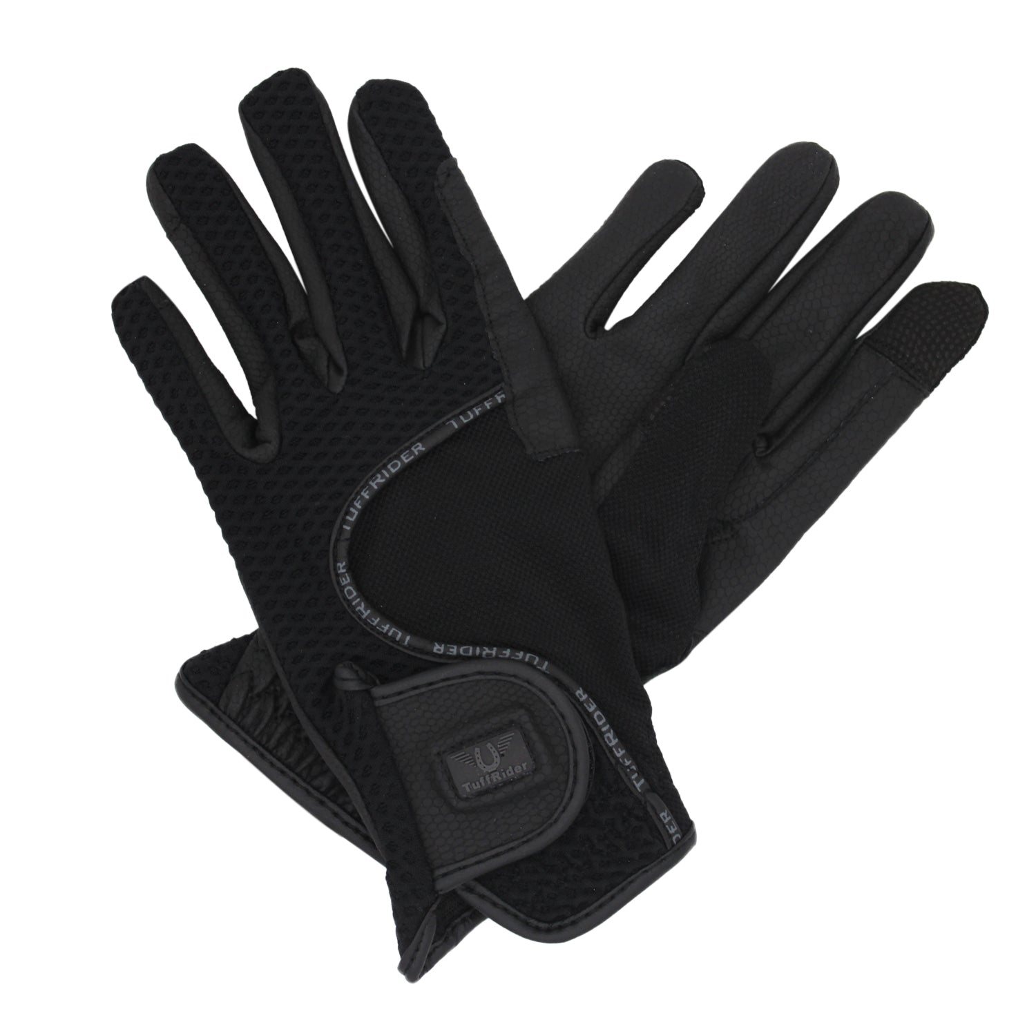 TuffRider Ladies Honeycomb Smart Riding Gloves_5715