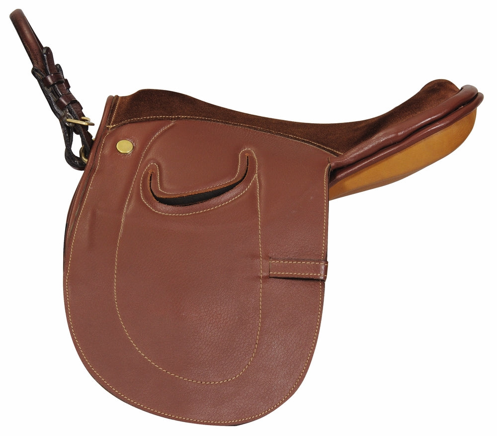 Henri de Rivel Advantage Pony Leadline Saddle - Leather_3371