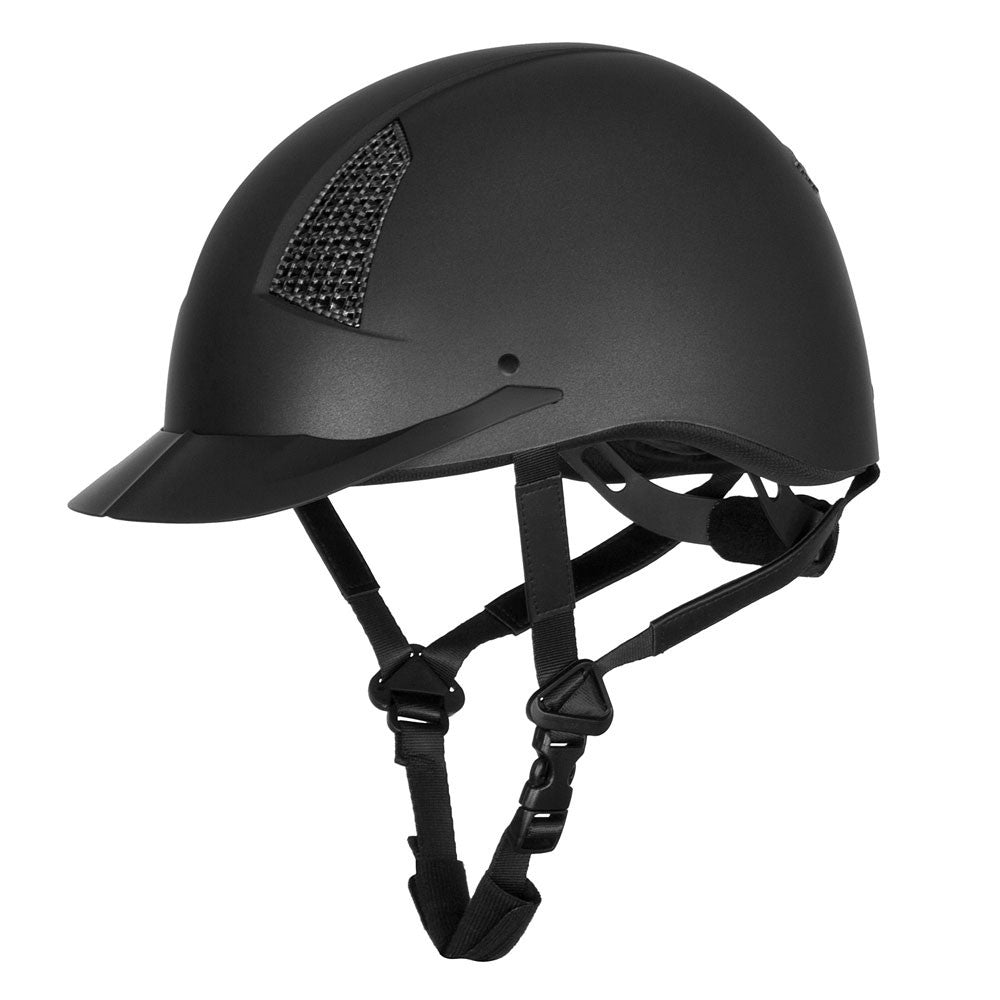 TuffRider Starter Horse Riding Helmet with Carbon Fiber Grill_3459