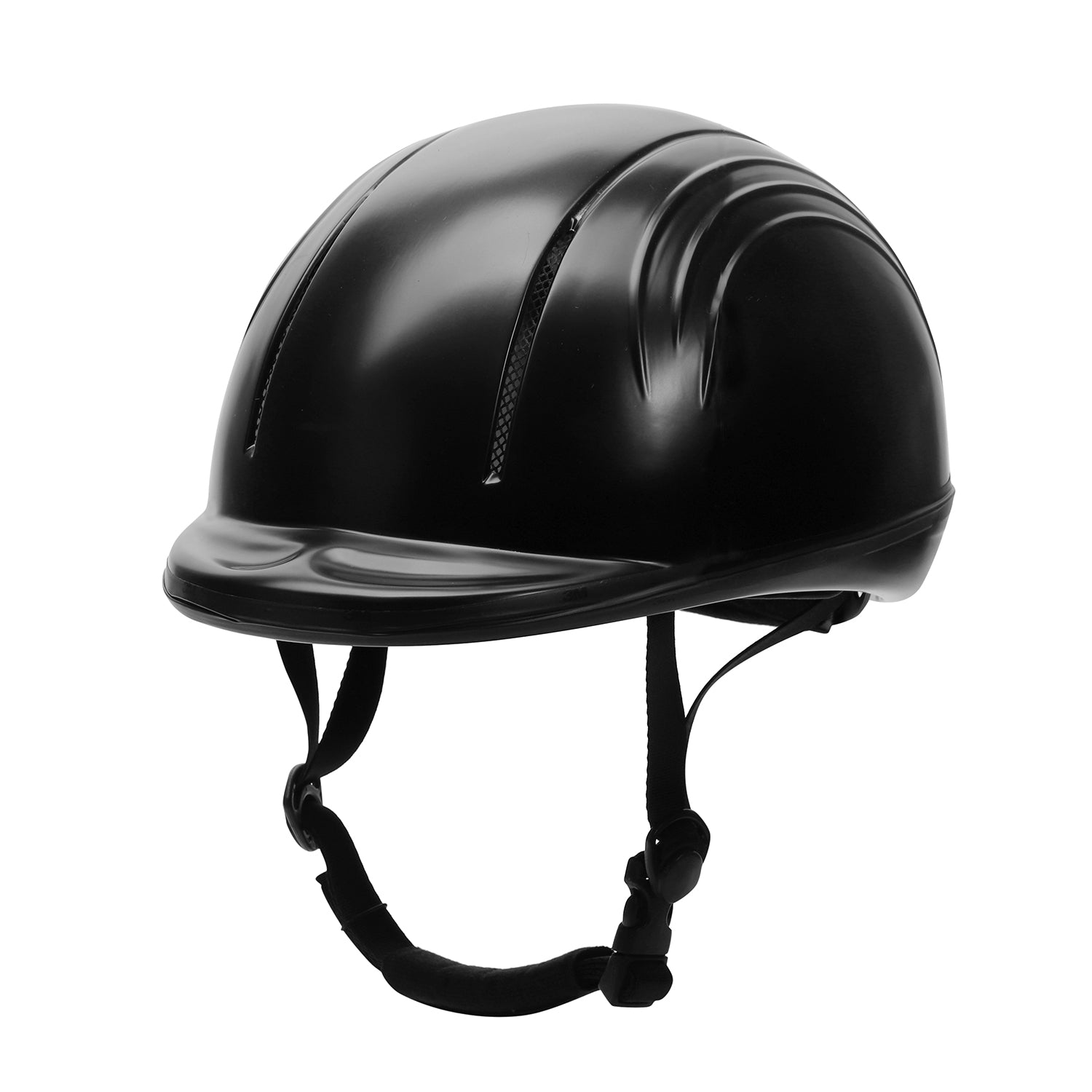 TuffRider Starter Basic Horse Riding Helmet Protective Head Gear for Equestrian Riders - SEI Certified - Black_3477