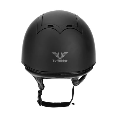 "TuffRider Show Time Helmet|Protective Head Gear for Equestrian Riders - SEI Certified, Tough and Durable - Black""_3486"