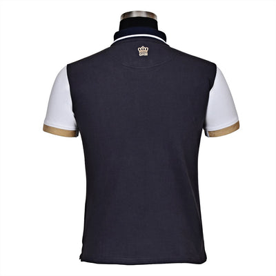 George H Morris Men's Reserve Short Sleeve Polo Sport Shirt_4583