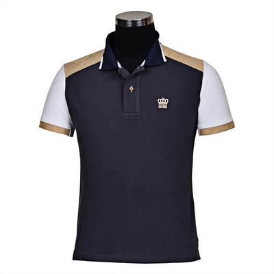 George H Morris Men's Reserve Short Sleeve Polo Sport Shirt_4582