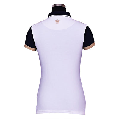 George H Morris Ladies Reserve Short Sleeve Polo Sport Shirt_4604