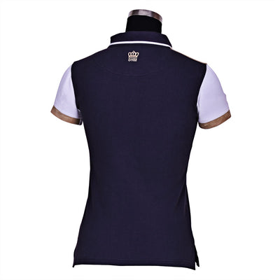 George H Morris Ladies Reserve Short Sleeve Polo Sport Shirt_4606