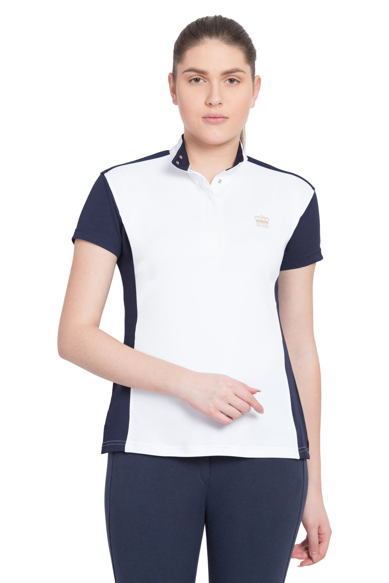 George H Morris Ladies Champion Short Sleeve Show Shirt_1504