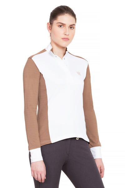 George H Morris Ladies Champion Long Sleeve Show Shirt_4458