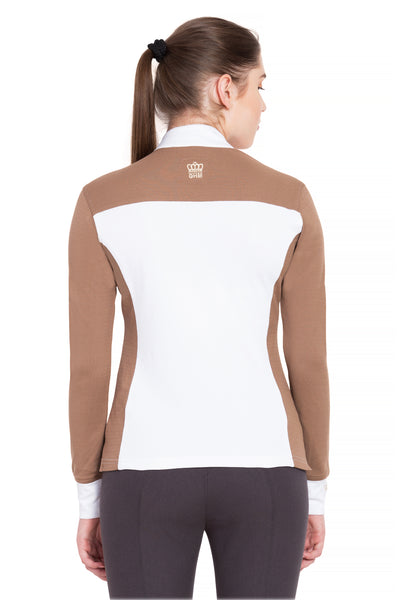 George H Morris Ladies Champion Long Sleeve Show Shirt_4457