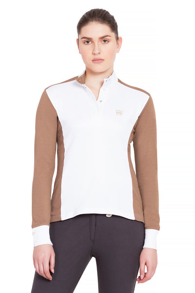 George H Morris Ladies Champion Long Sleeve Show Shirt_4455