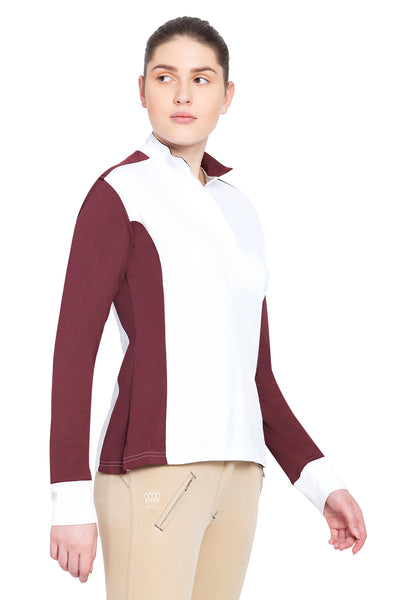George H Morris Ladies Champion Long Sleeve Show Shirt_4471