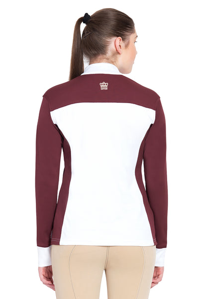 George H Morris Ladies Champion Long Sleeve Show Shirt_4470