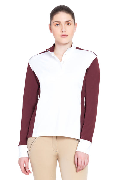 George H Morris Ladies Champion Long Sleeve Show Shirt_4469