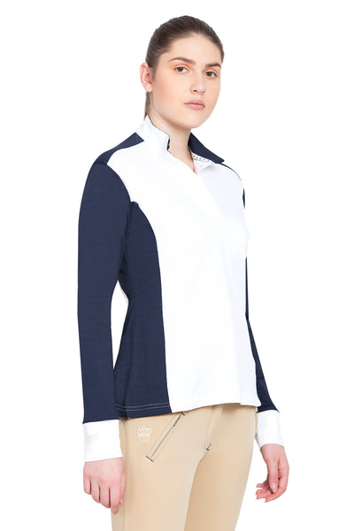 George H Morris Ladies Champion Long Sleeve Show Shirt_4450