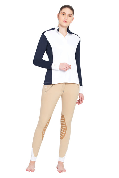 George H Morris Ladies Champion Long Sleeve Show Shirt_4454