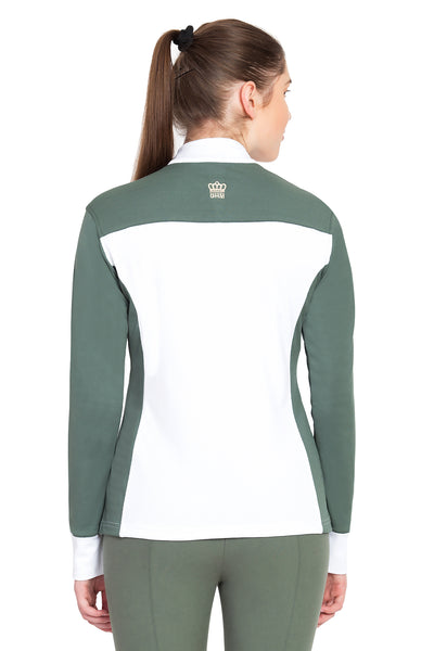 George H Morris Ladies Champion Long Sleeve Show Shirt_4464
