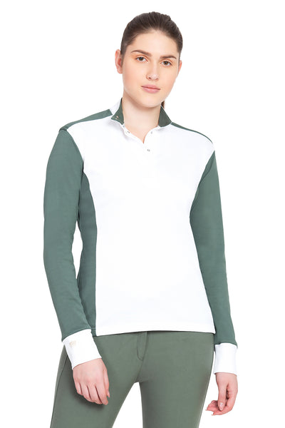 George H Morris Ladies Champion Long Sleeve Show Shirt_4462