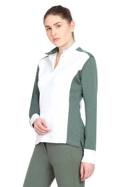 George H Morris Ladies Champion Long Sleeve Show Shirt_4461