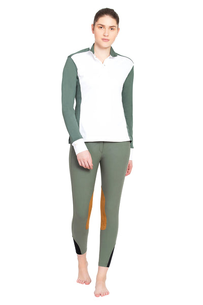 George H Morris Ladies Champion Long Sleeve Show Shirt_4467