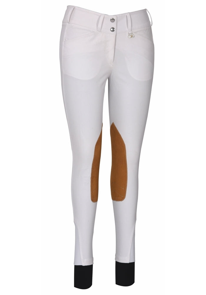 George H Morris Ladies Show Time Knee Patch Breeches_754