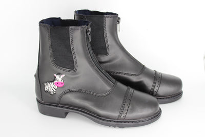 TuffRider Starter Zebra Paddock Boots for Children _5157