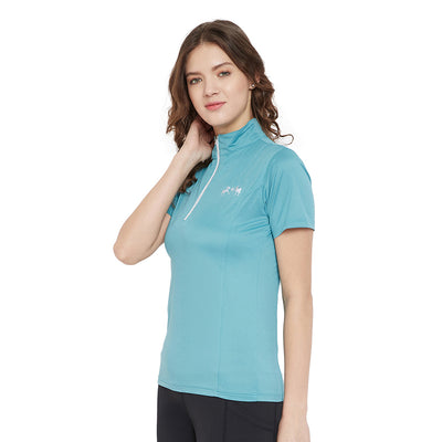 Equine Couture Surya Equicool Short Sleeve Sun Sport Shirt_2