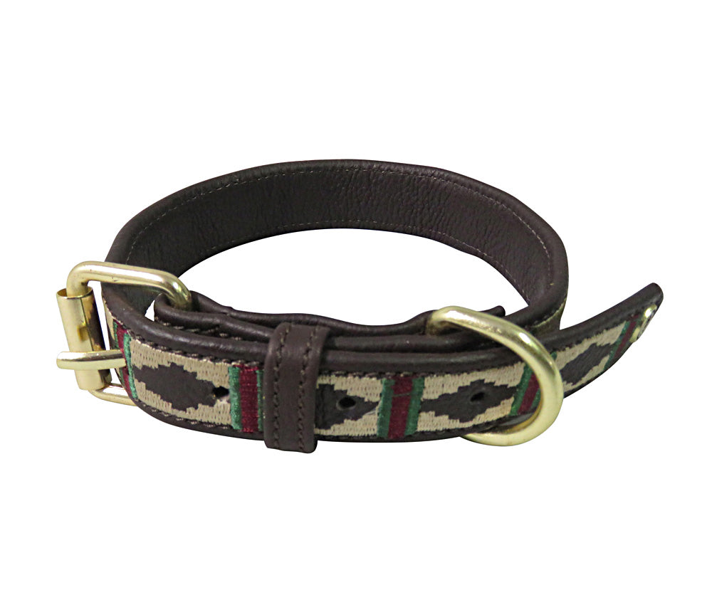 Halo Dog Collar - Leather with Classic Dog Collar_2077