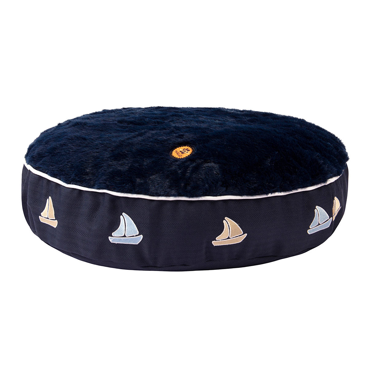 Halo Sailboat Round Dog Bed_2767