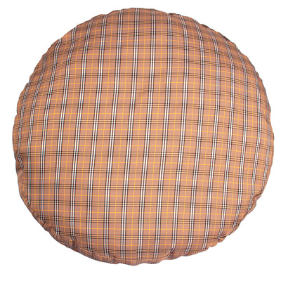Halo Classic Plaid Round Dog Bed_4635