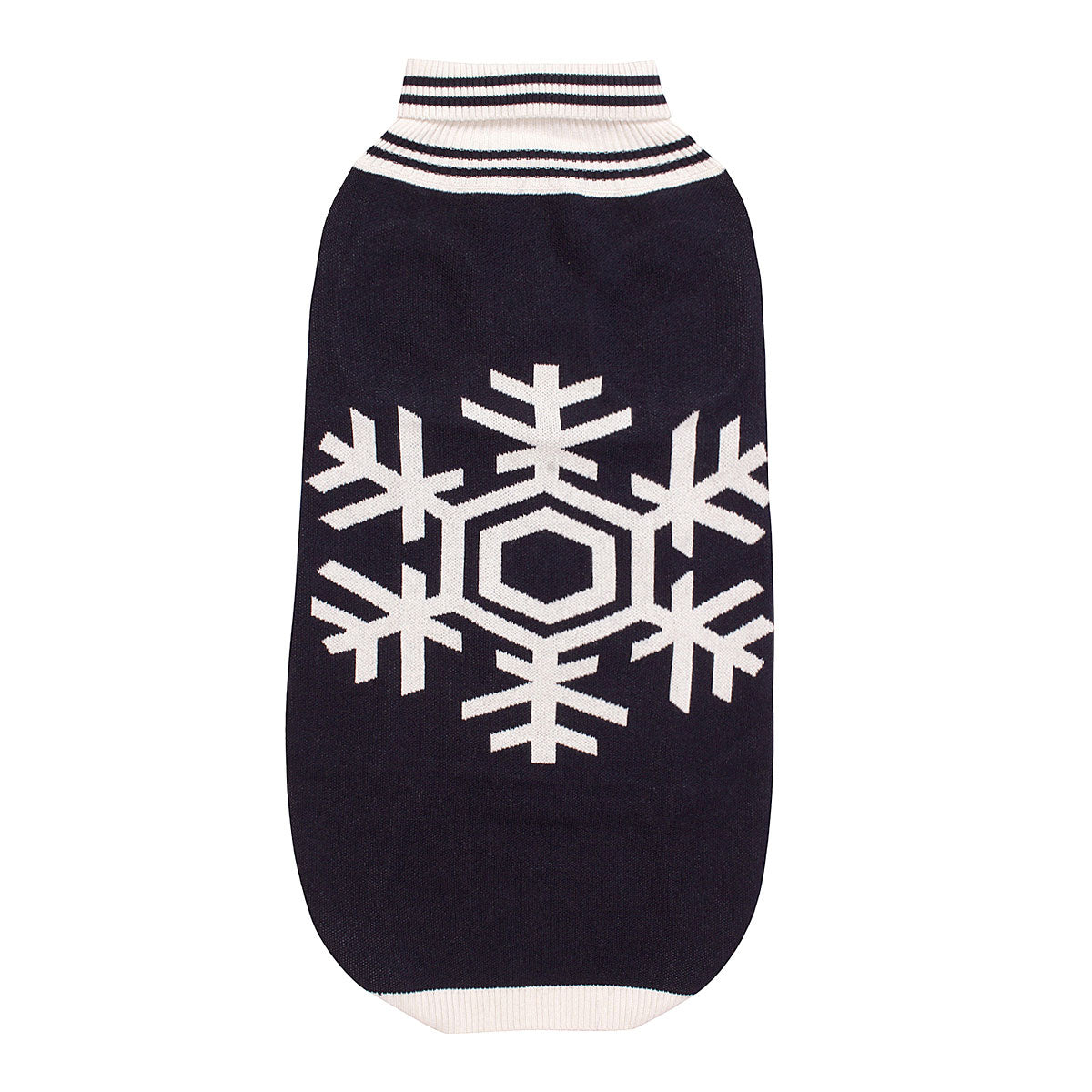 Halo Snowflake Dog Sweater_1597