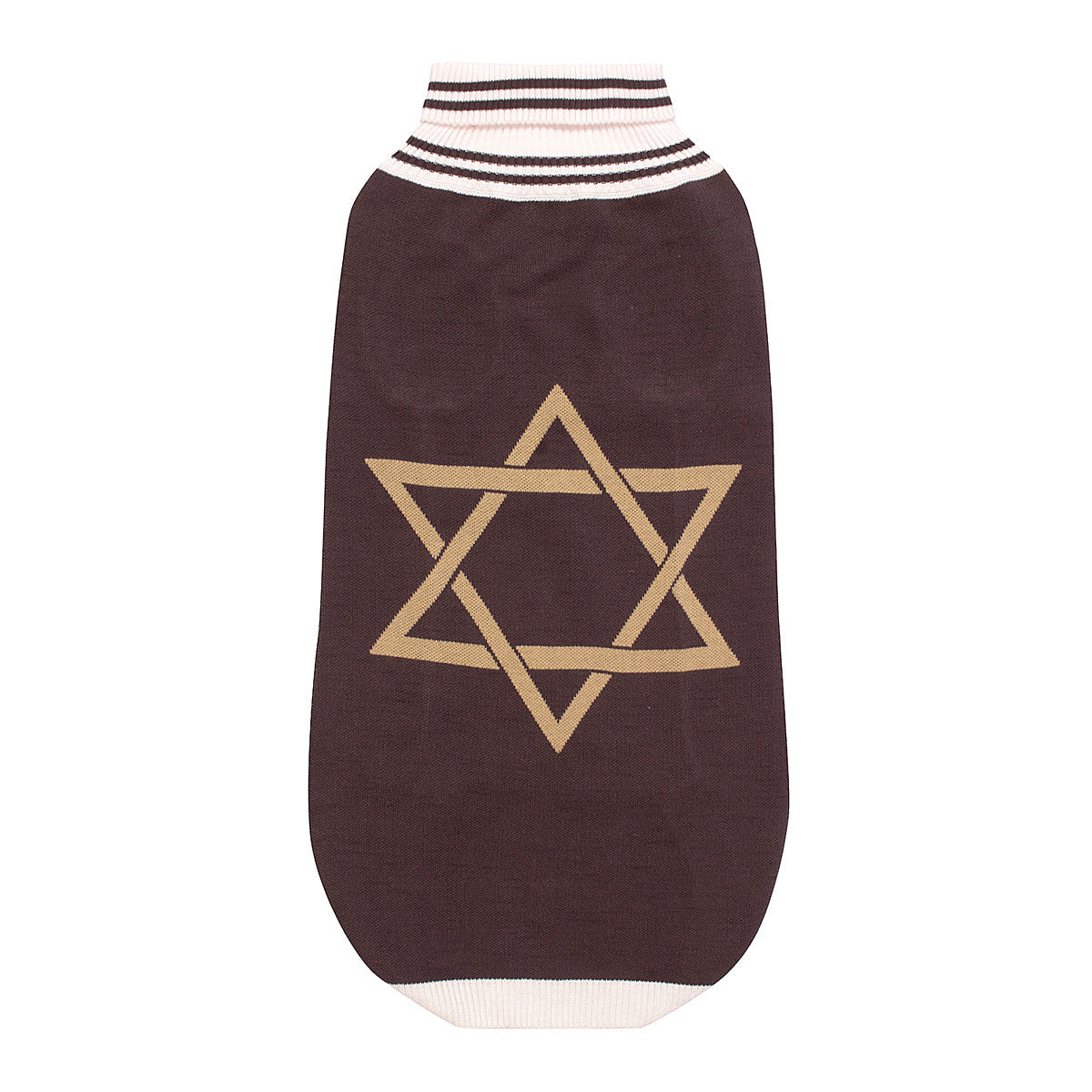 Halo Star of David Dog Sweater_1613