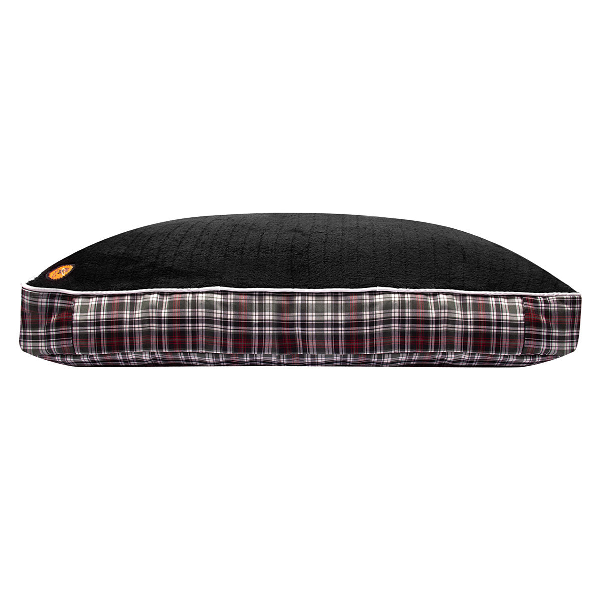 Halo Duck Green Plaid Rectangular Dog Bed_2856