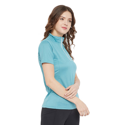 Equine Couture Surya Equicool Short Sleeve Sun Sport Shirt_3